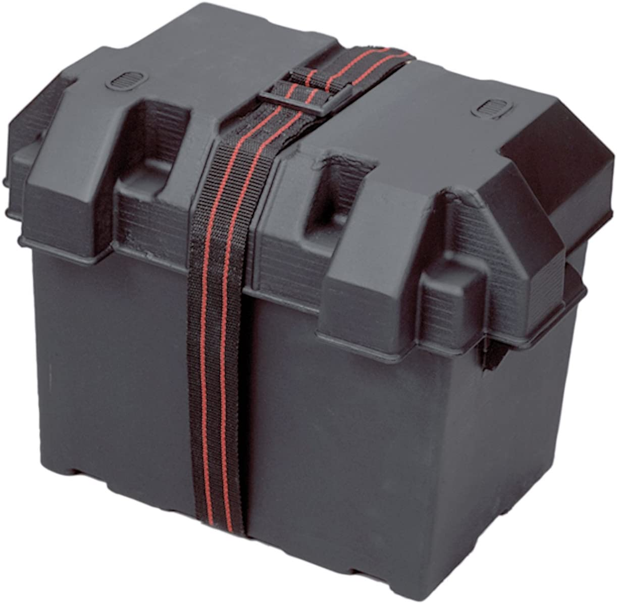 Powerhouse 13035 12-Volt Battery Box, Group 27