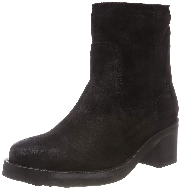 b81546e61ceb Tommy Jeans Women s Essential Suede Biker Boot  Amazon.co.uk  Shoes ...