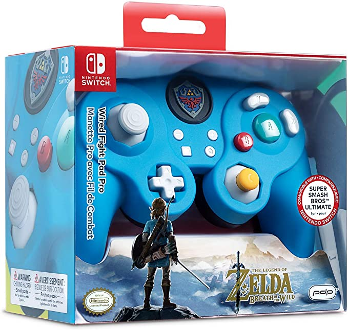 PDP - Mando Smash Pad Pro Con Cable, Link (Nintendo Switch): Amazon.es: Videojuegos