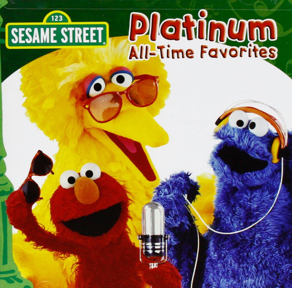 sesame street platinum all time favorites amazon com music