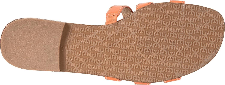 Sam Edelman Women's Bay Slide Sandal B0762T75V5 12 B(M) US Tangelo Vaquero Saddle Leather