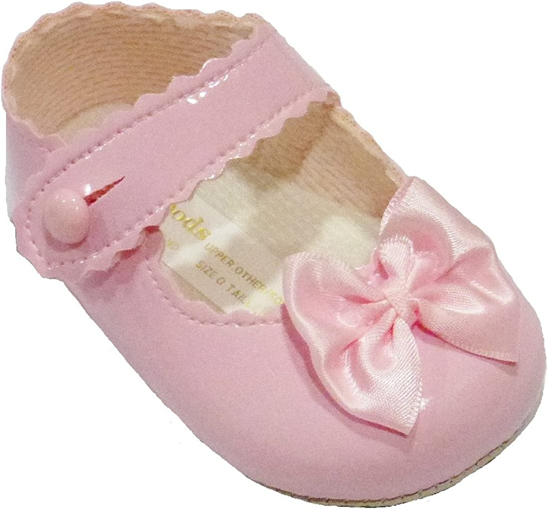 Baby Girl Shoes Soft Soled Patent PU