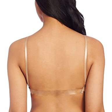 bd06818f24 Image Unavailable. Image not available for. Color  Child Seamless Athletic  Dance Bra Bella Balleto M L Clear Straps Nude