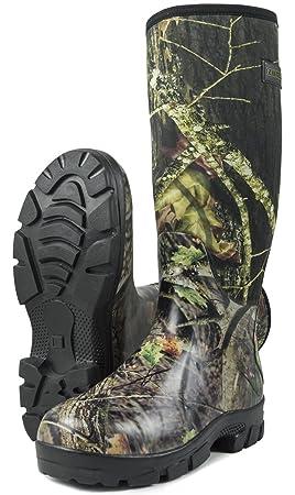 Nitehawk Bottes de pluie en néoprène - pour la pêche la chasse la ... 1220a85e3b55