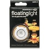 SUCK UK SK LIGHTGLASS1 - Luz LED, flotante, recargable, color blanco