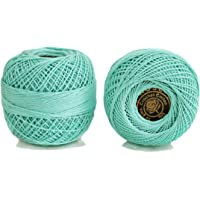Embroiderymaterial Crochet Cotton Thread Yarn for Knitting and Craft Making Roll