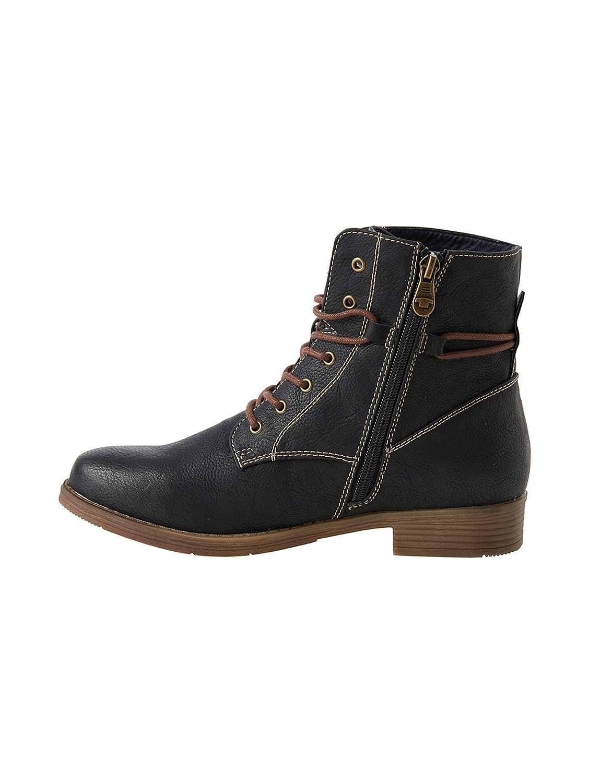 TOM TAILOR Damen Stiefel 3792101 Stiefel Damen schwarz 3e4ee4