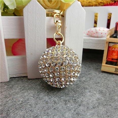 Amazon.com: Jzone - Llavero con diseño de bola de discoteca ...