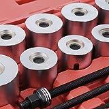 SUNROAD 27pc Universal Press & Pull Sleeve Kit Bush Bearing Removal Insertion Tool Set