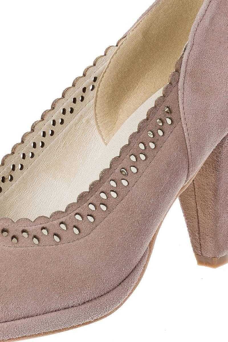 Hirschkogel, Scarpe Scarpe Scarpe col Tacco Donna Marrone Talpa 7e9992