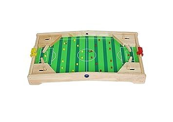 Kamaca Flipper - Pelota de fútbol de Madera Maciza, 60 cm, Natural ...