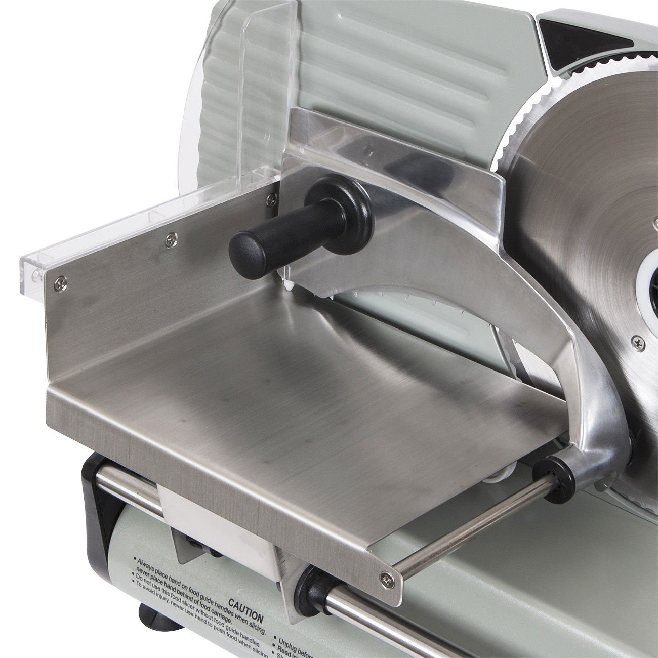 Electric Commercial Meat Slicer, Machine Food Cutting, Deli Slice Veggie Cutter Kitchen 8.7'' Blade 180W by Snow Shop Everything (Image #6)