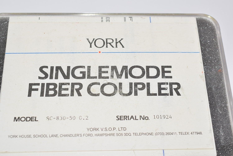 York Singlemode Fiber Coupler SC-830-50-0.2