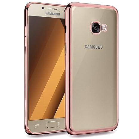 HanLuckyStars Funda Galaxy A5 2017, TPU Funda Carcasa Case [Ultra Hybrid] para Samsung Galaxy A5 2017, Carcasa Galaxy A5 2017 Funda con [Ultra ...
