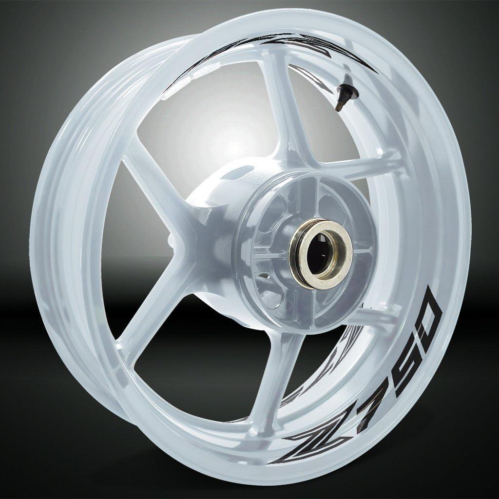 2 Tons Am/éthyste Jante de Moto d/écalcomanies Autocollant Accessoire pour Kawasaki Vulcan S