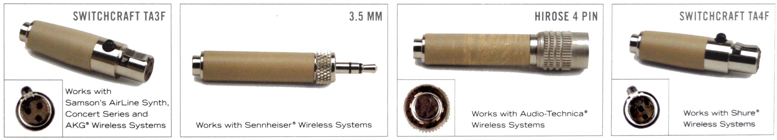 Samson SE50 Earset Microphone with Micro-Miniature Condenser Capsule by Samson Technologies