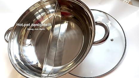 Halong Steam Boat Hot Pot - Olla Especial zweigeteilt ...