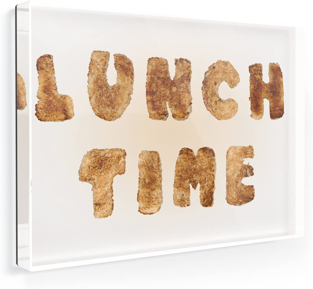 Fridge Magnet Lunch Time French Toast Bread - NEONBLOND