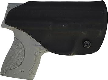 Black Kydex IWB LH holster S/&W Shield .45