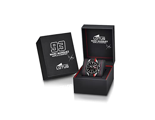 Amazon.com: LOTUS Watch Marc Marquez Male Chronograph - 18103-5: Lotus: Watches