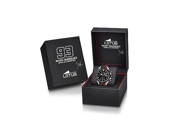 Lotus 18103/1 - Reloj de Pulsera Hombre, Plástico, Color: Amazon.es: Relojes