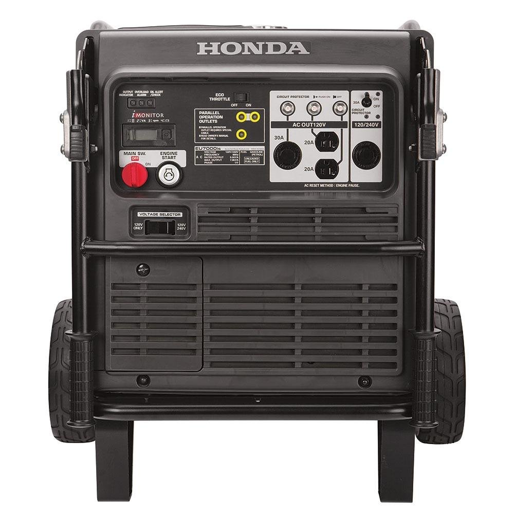 Honda 12000 Watt Portable Generator Wiring Diagram Library Inverter Amazoncom 7000w Super Quiet Light Weight 120 240v Fuel Efficient