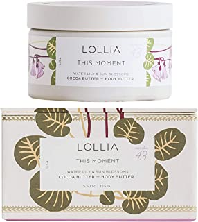 product image for Lollia Body Butter | Nourishing Body Moisturizer | Hydrating and Smooth | Finest Ingredients Including Shea Butter & Cocoa Butter | 5.5 oz/155 g