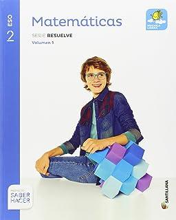MATEMATICAS SERIE AVANZA 2 ESO SABER HACER - 9788468040387: Amazon.es: Vv.Aa.: Libros