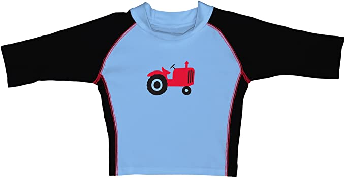 I-Play Baby-Boys Baby Three-Quarter Sleeve Rashguard Shirt