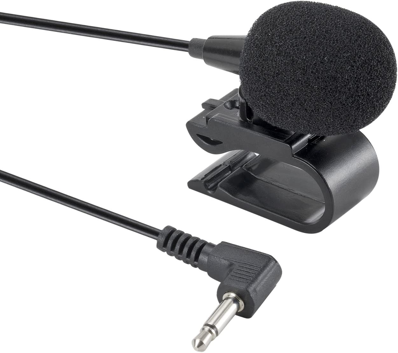 3m Universal 3.5mm Aux micrófono externo COCHE GPS Radio Micrófono Estéreo Bluetooth BT