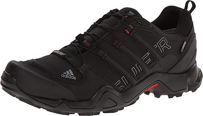 panel visión huella dactilar  Amazon.com   Adidas Terrex Swift R Gtx W Black / Vista Grey / Power Red  Women's Hiking Shoes - 10 D(M) US   Hiking Shoes