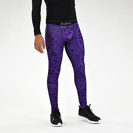shopping latest trends lowest price SLEEFS Oceanic Purple Tights for Men