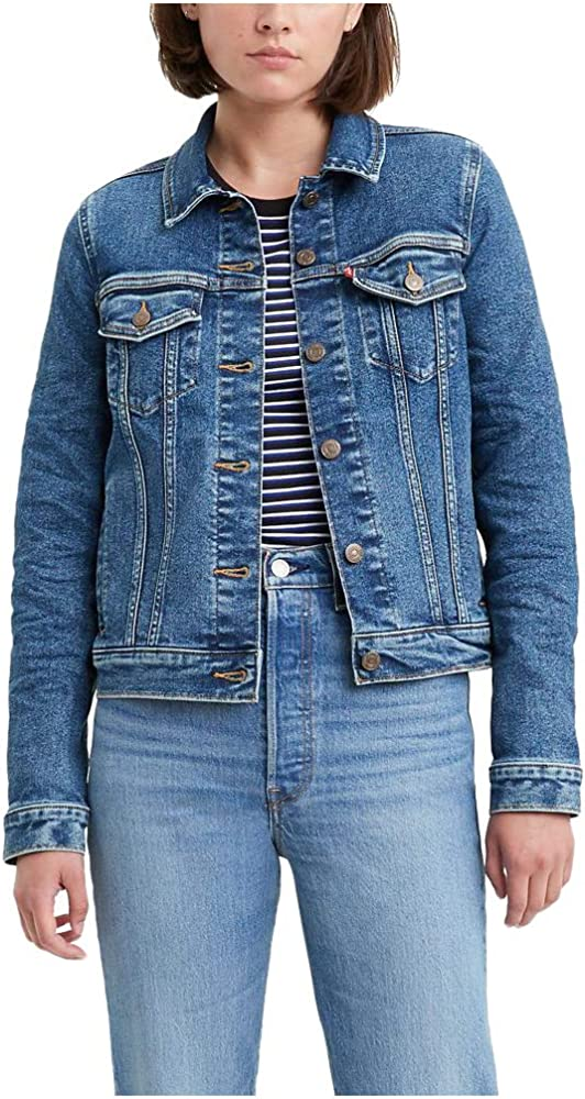 Levis Original Trucker Jackets Chaqueta de Jean, Encantador Azul, XS para Mujer: Amazon.es: Ropa y accesorios