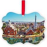 CafePress - Park Guell, Barcelona - Spain - Christmas Ornament, Decorative Tree Ornament