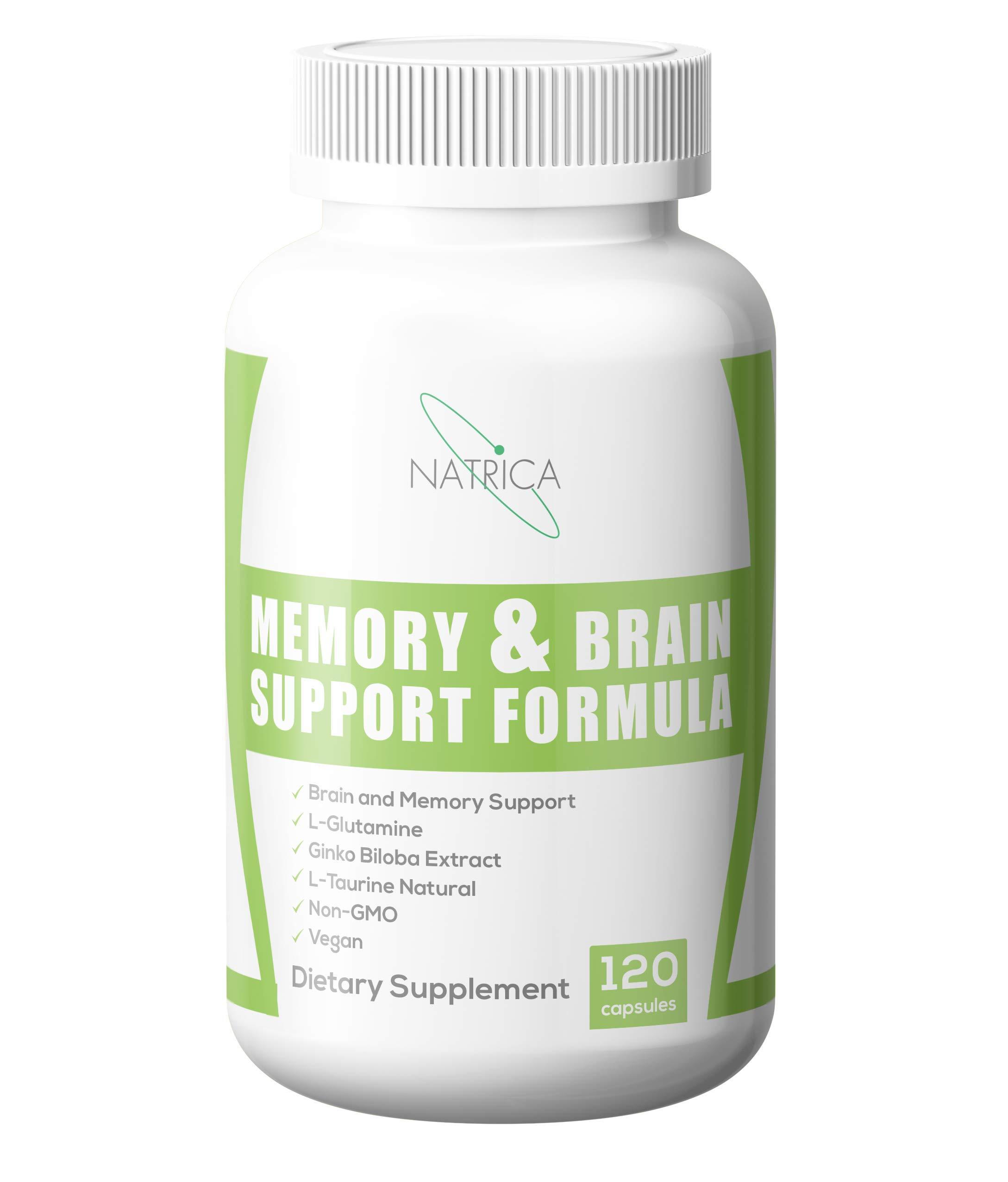 Natrica Memory & Brain Support Formula, 120Count