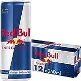 Red Bull Energy Drink 12 x 250 ml Dosen Getränke 12er Palette
