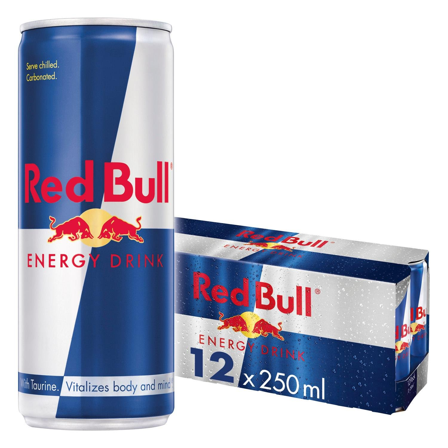 Red Bull Energy Drink 12 x 250 ml Dosen Getränke 12er Palette ...
