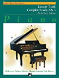 Alfred's Basic Piano Library Book Complete Levels 2 et 3 --- Piano - Palmer, Manus & Lethco --- Alfred Publishing