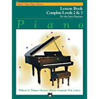Alfred's Basic Piano Library Lesson Book Complete, Bk 2 and 3: For the Later Beginner