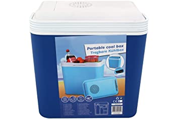 Auto Kühlschrank Mit Akku : Tragbare elektrische kühlbox 12v 22 l für auto und steckdose