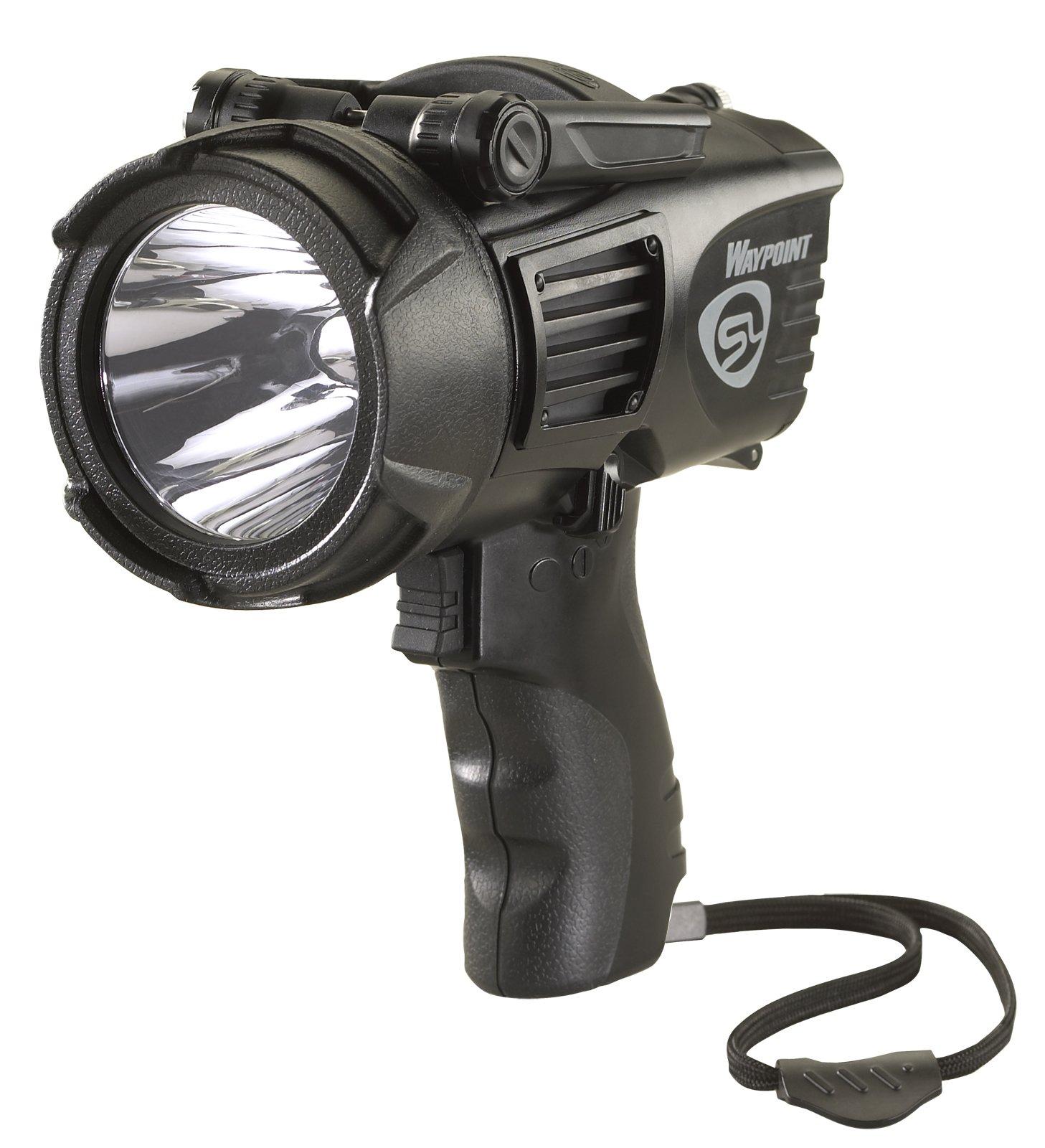 Streamlight 44905 Waypoint High Performance Pistol-Grip Spotlight, Black - 550 Lumens by Streamlight