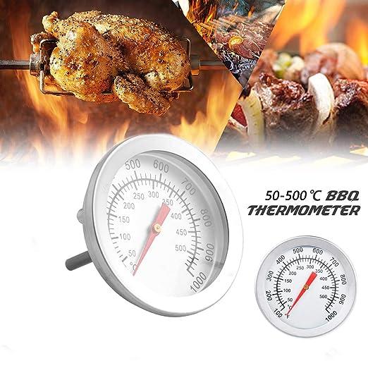 Medidor de temperatura de acero inoxidable,Barbacoa Barbacoa ...