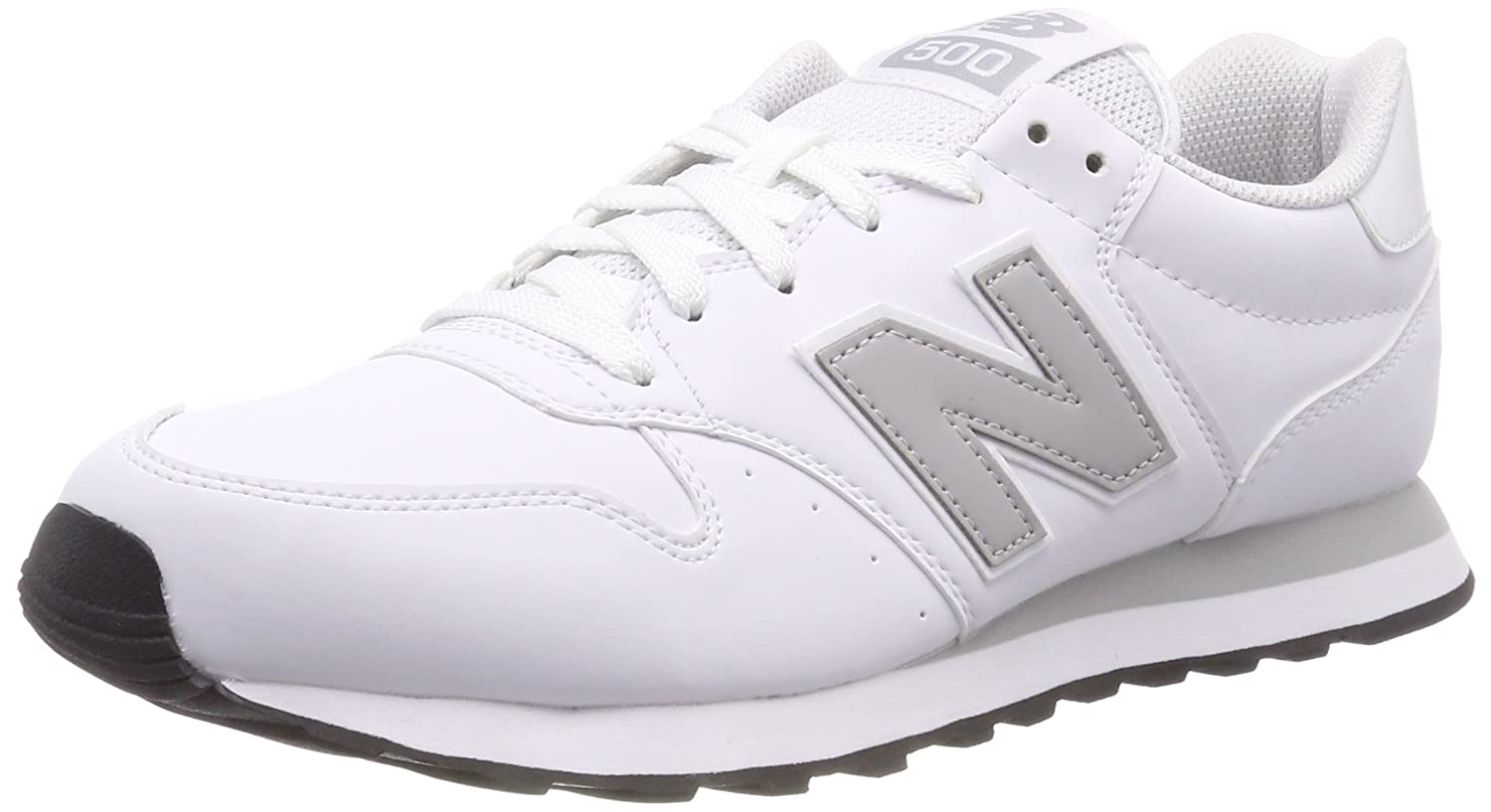 New Balance Gm500 D 14e - Zuecos Hombre 40.5 EU|Blanco (White/Rain Cloud/White Wwg)