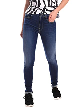 timeless design fff65 8cbb4 Fornarina BE171L44D867VR Jeans Women: Amazon.co.uk: Clothing