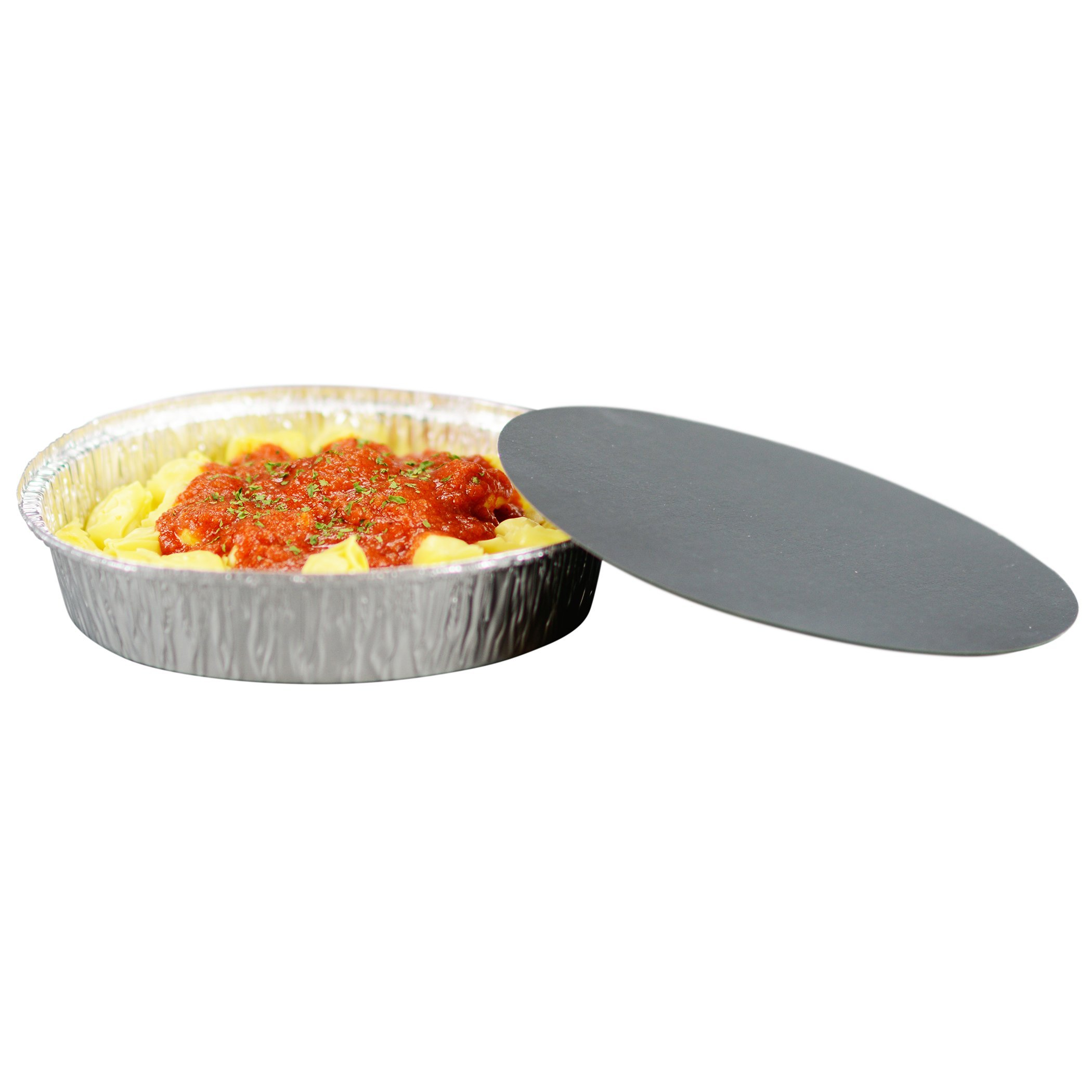 Simply Deliver 9-Inch Round Disposable Take-Out Pan, 30 Gauge Aluminum, 500-Count by Simply Deliver (Image #6)