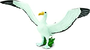 Safari Ltd. Giant Albatross - Realistic Hand Painted Toy Figurine Model - Quality Construction from Phthalate, Lead and BPA Free Materials - for Ages 3 and Up