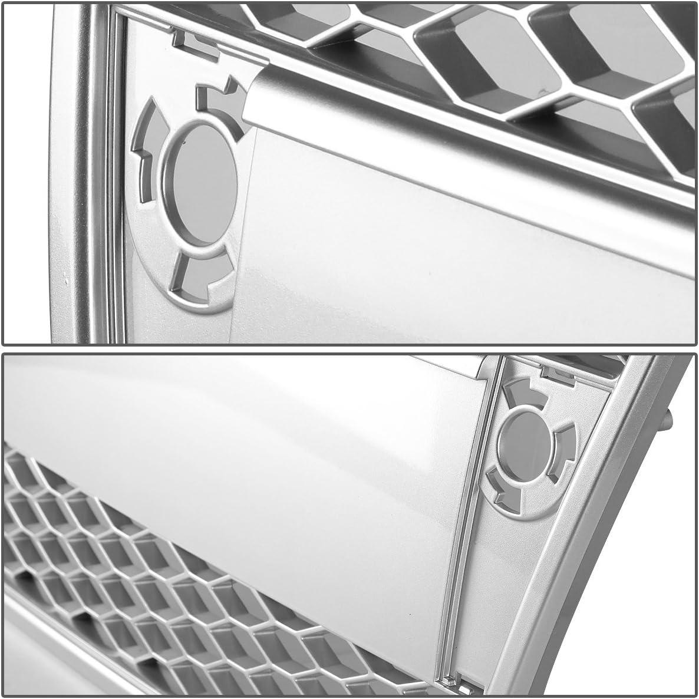 DNA Motoring GRF-076-SL Front Bumper Grille Guard