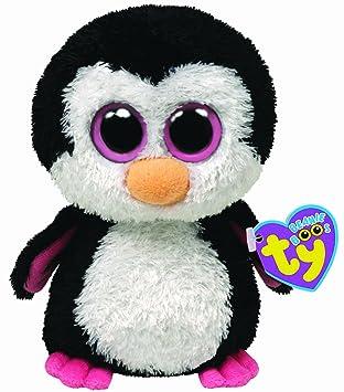 Ty 7136044 Beanie Boos - Pingüino de peluche (tamaño grande)