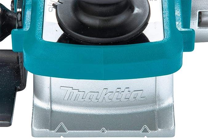 850 W Azul Negro Makita KP0810 Cepillo 850W 16000 Rpm 3.3 Kg Ancho 82 Mm Corte 0-4 Mm