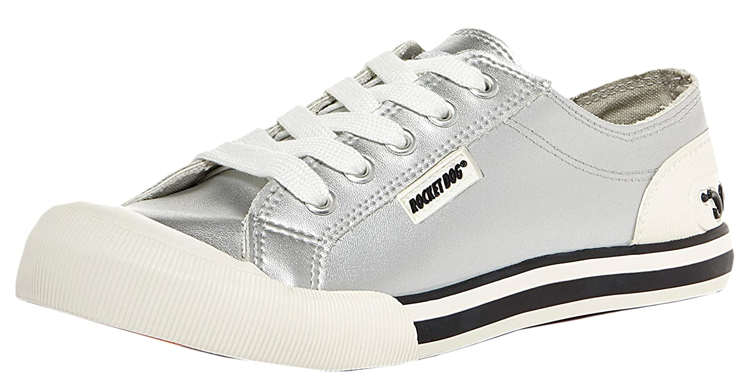 Sneaker Rocket uk Women's Cadet Jazzin Silver MAmazon 8 co Dog POk0nw